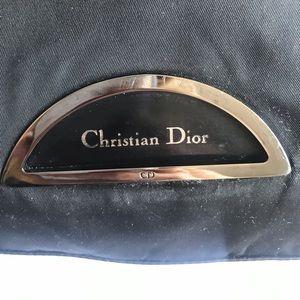💯 auth Christian Dior tote  black purse CD